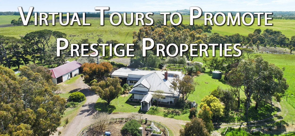 Virtual Tours to Promote Prestige Real Estate