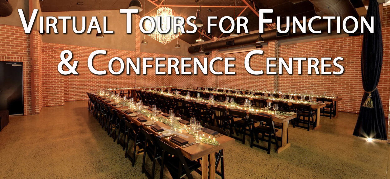 Virtual Tours for Event, Conference and Function Centres