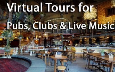 Virtual Tours for Pubs, Clubs and Live Music Spaces
